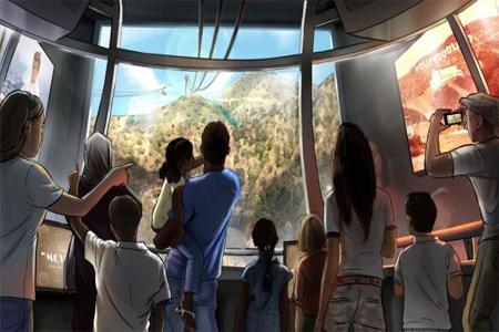 Warner Bros. proposes aerial tramway to Hollywood sign