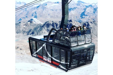 World's highest aerial tramway opens in Tignes