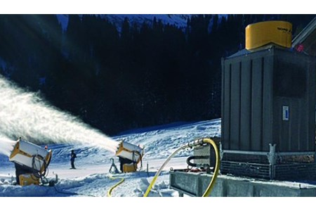 TechnoAlpin offers water cooling solutions for snowmaking