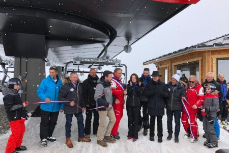 Detachable chairlift inaugurated at Les Sybelles
