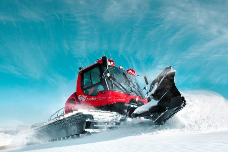 PistenBully offers further online training for snow groomer drivers