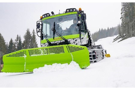 World's first electrically driven snow groomer launched at INTERALPIN 2019