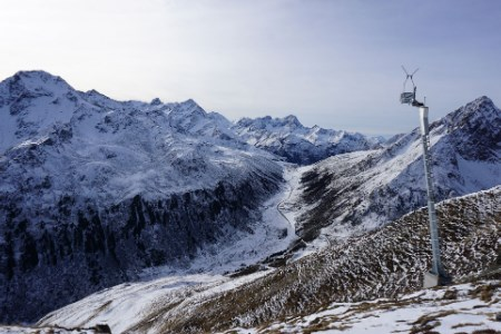 Wyssen avalanche control systems support safety at Kühtai and Davos